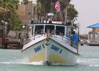 bay fishing on Danny B