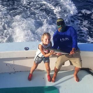 Kids fishing South Padre Island, TX.