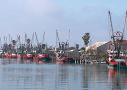 Shrimp boat at the dock
