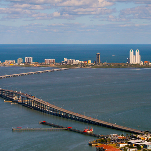 What is the bay, Laguna Madre Bay