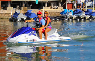 Jet ski rentals family spring vacations 2021