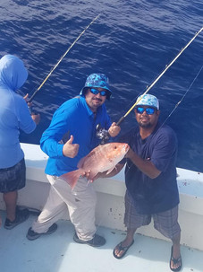 Red Snapper off shore fishing