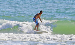 Surfing in Texas