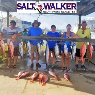 Fishing offshore on Salt Walker