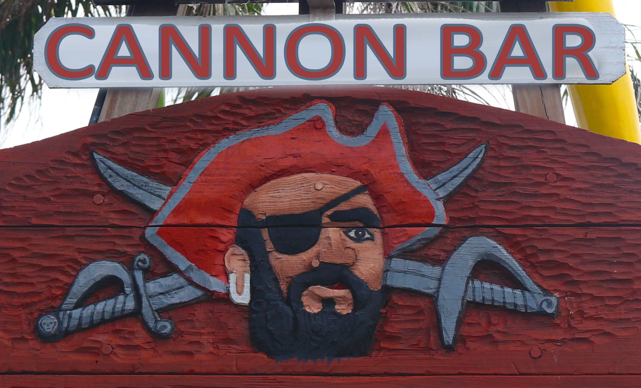 The Cannon Bar at Pirate's Landing
