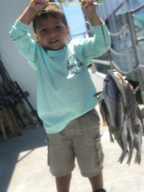 Bay Fishing on South Padre Island, TX.