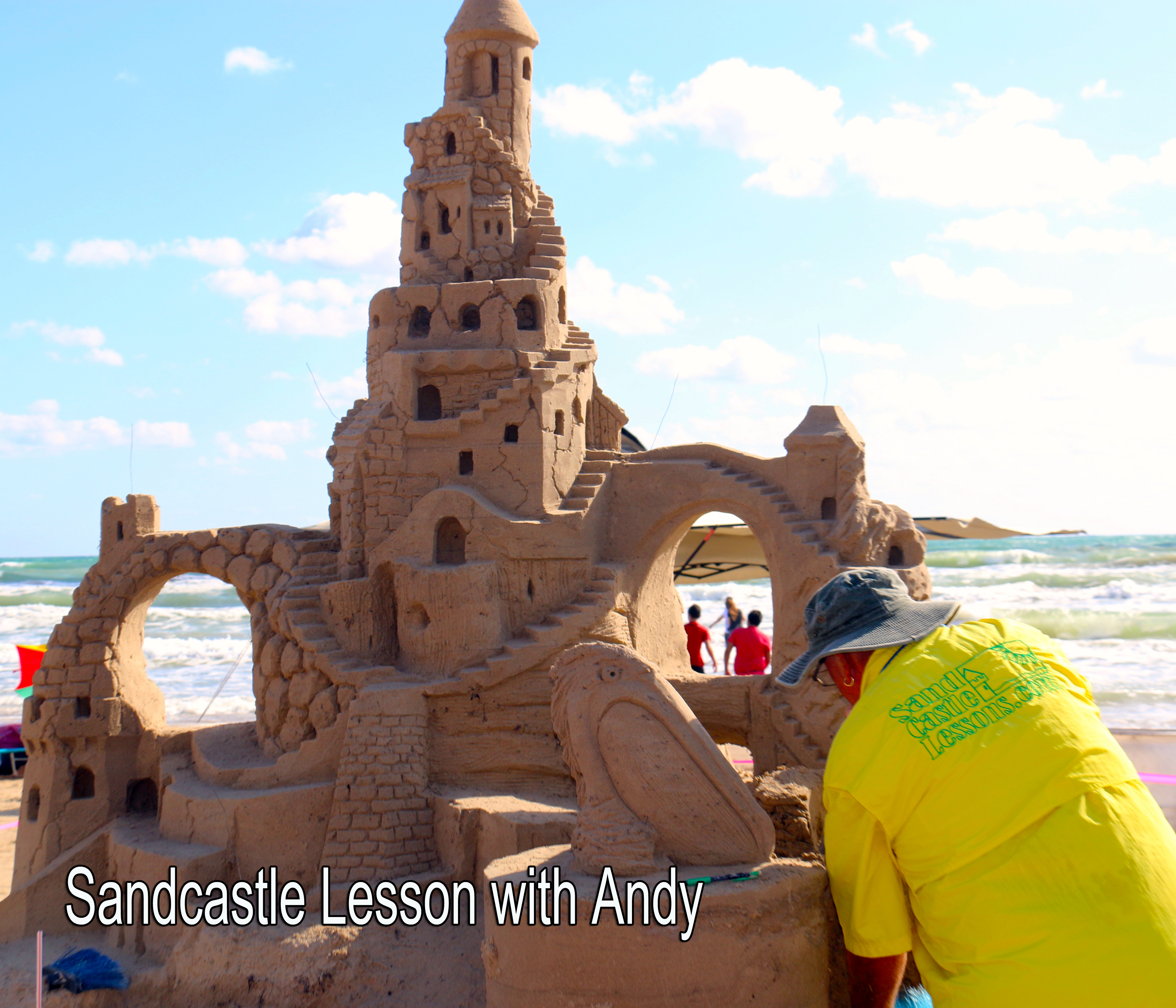 Sandcastle Lesson