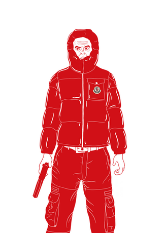 Barry in Moncler