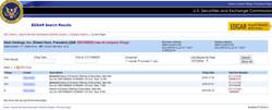 NHI Filing SCR SHOT SEC site