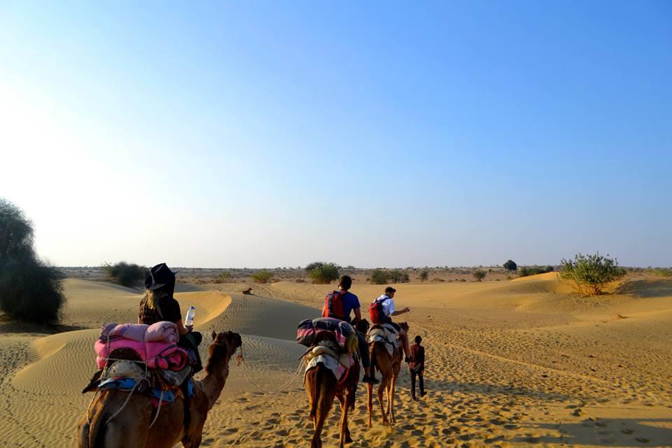 Desert Camel Ride Jaisalmer