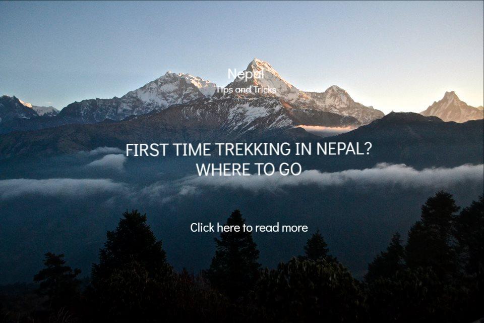 Travel blog backpacker Nepal Trek