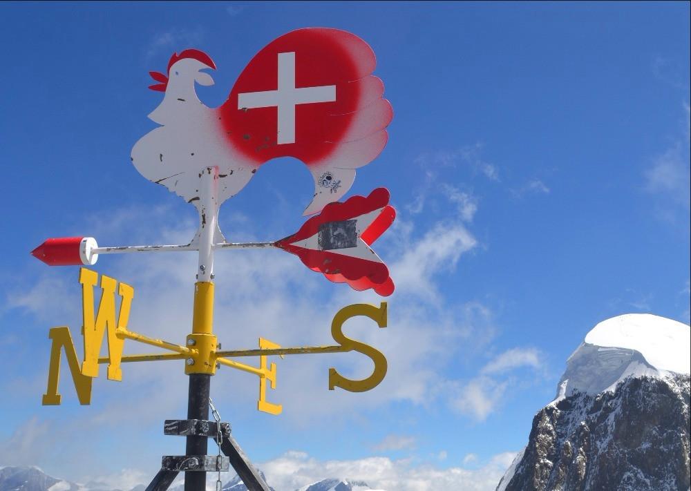 Jungfrau hiking
