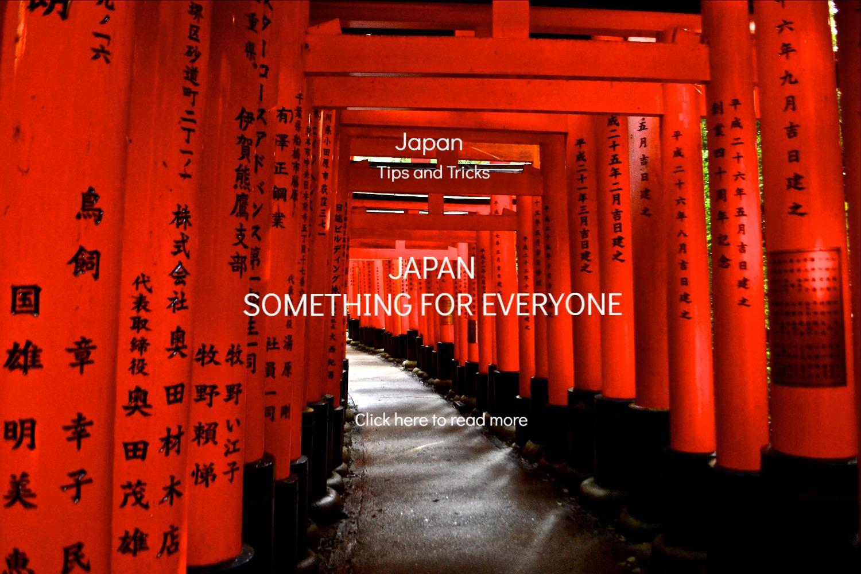 Japan travel blog for backpackers