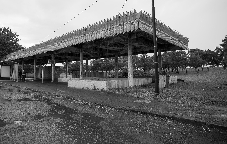 Bild 7 Bushaltestelle aus Sovietischen Z