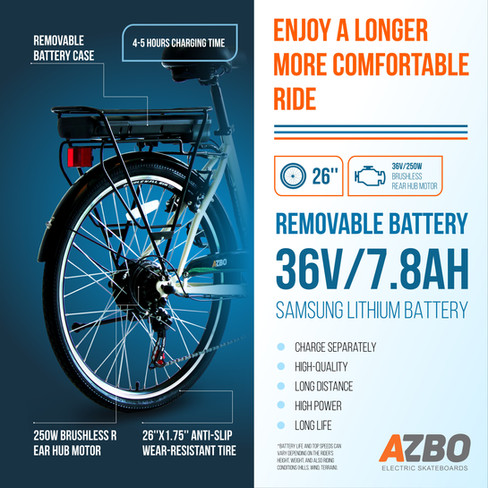 Electric Hybrid Bicycle