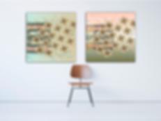Ontwerp van Dessins voor Wall Decorations Art Stories