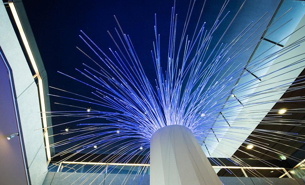 Van Riet Ontwerpers, ontwerp van stand en lichtobject