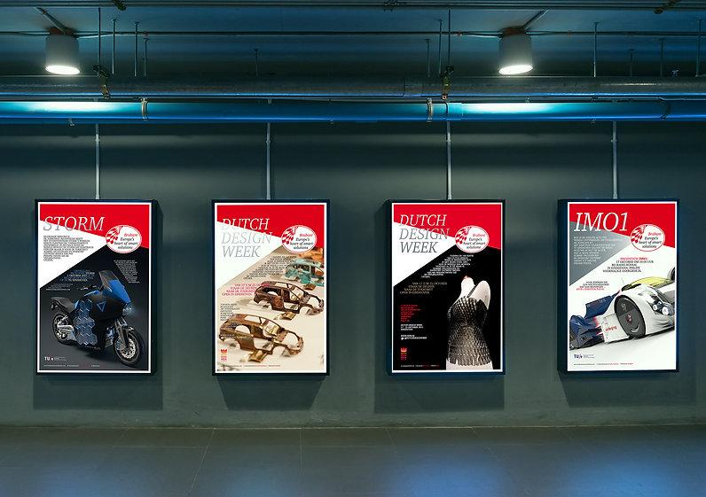 vanrietontwerpers ontwerp van posters/affiches