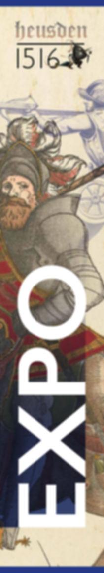 Ontwerp gevelbanier | Heusden 1516 | Van Riet Ontwerpers