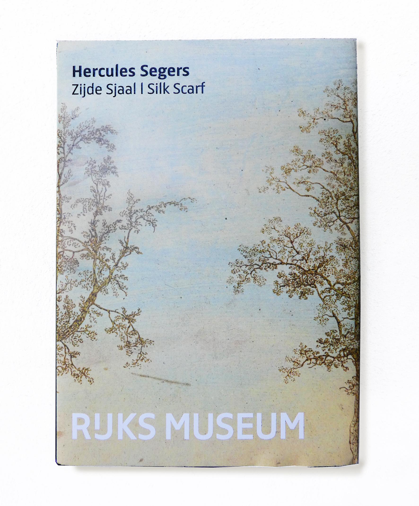 Rijksmuseum ontwerp zijde sjaal
