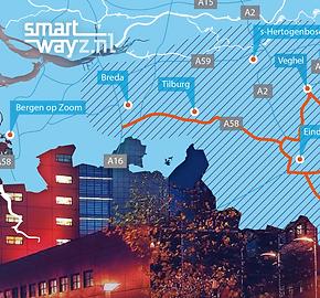 Van Riet Ontwerpers, Ontwerp van infographic kaart