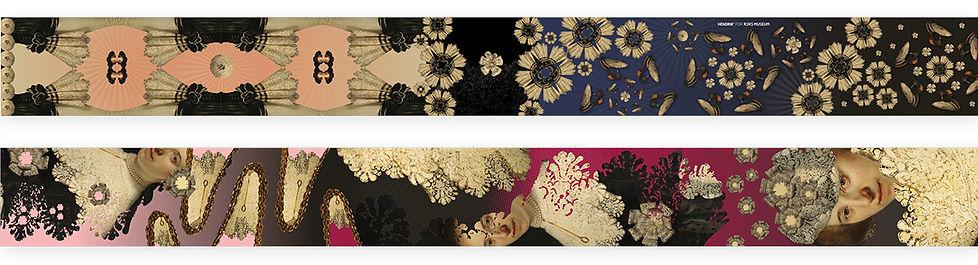 Van Riet Ontwerpers Hendrik.nu Rijksmuseum ontwerp van zijden shawls