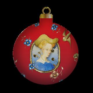 December kerstmaand  Maria kerstbal