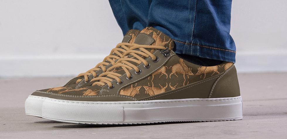 Dessin voor schoenen Van Riet Ontwerpers