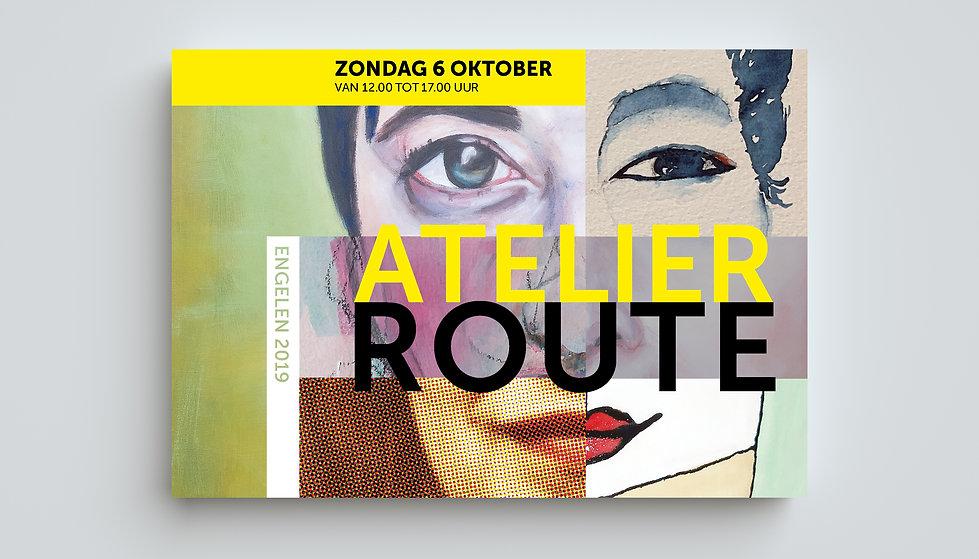 Cover Catelogus Atelierroute Engelen 2019