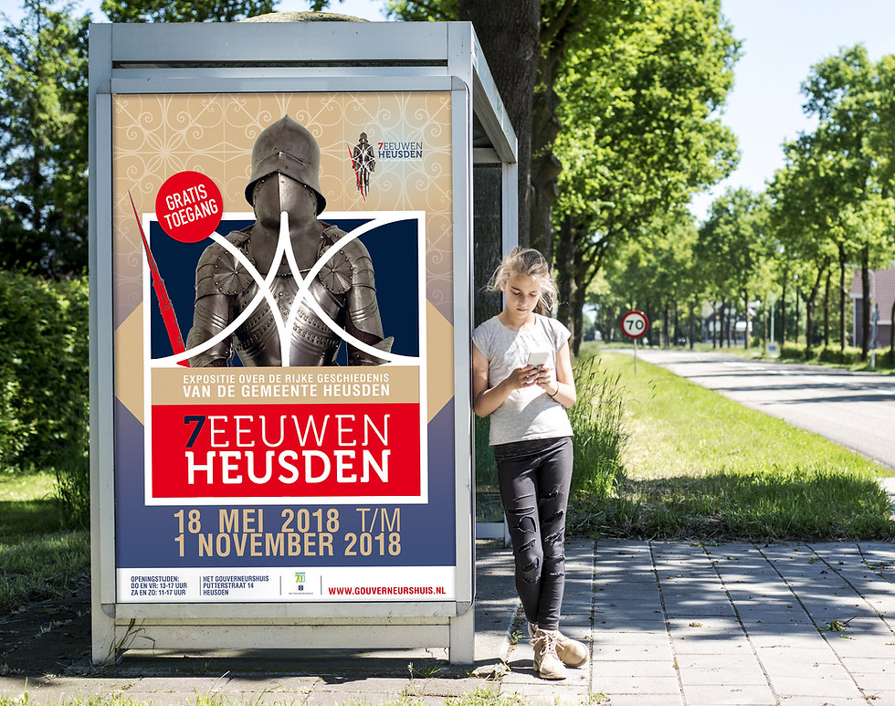 Van Riet Ontwerpers, ontwerp exposities, Gouverneurshuis Heusden