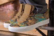 Motieven voor sneakers Van Riet Ontwerpers