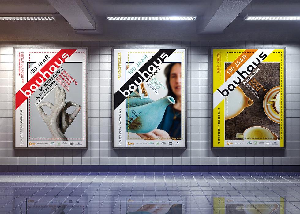 Van Riet Ontwerpers, ontwerp van Afficehs reeks, ontwerp expo, ontwerp publiciteit
