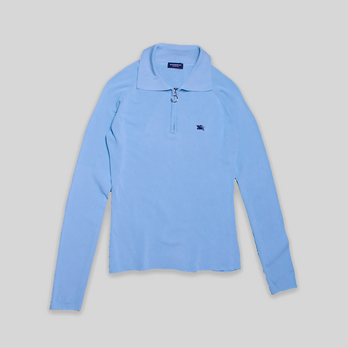 Camiseta cuello polo BURBERRY 1/4 Zip