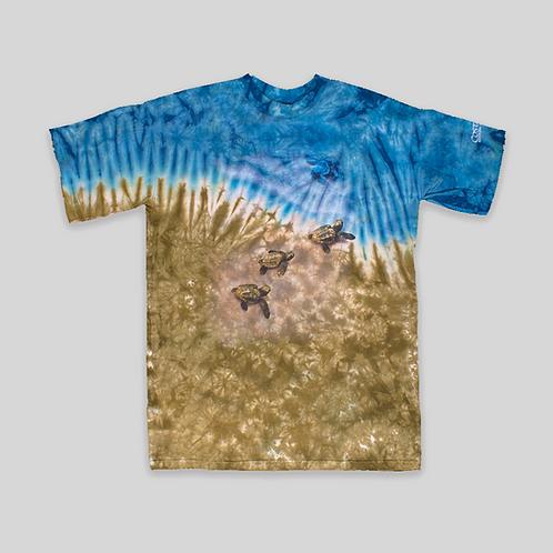 "camiseta vintage Tie dye ""Costa Rica"""