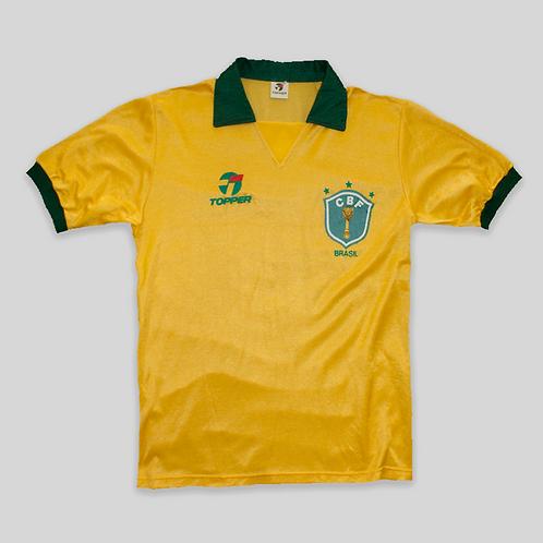 Camiseta Brazil OG Mexico 86 (L)