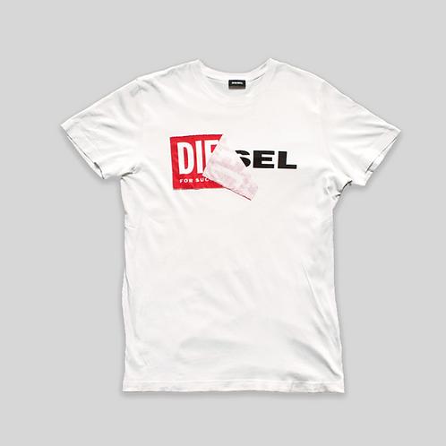 "Camiseta Diesel ""old logo new logo"""
