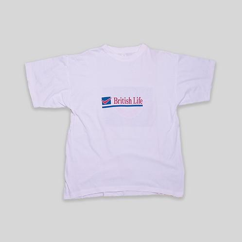 Camiseta publicitaria BRITISH LIFE