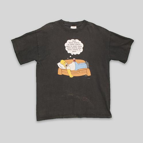 Camiseta Homer Simpson Vintage 1998