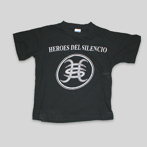 CAMISETA HEROES DEL SILENCIO WORLD TOUR 2007