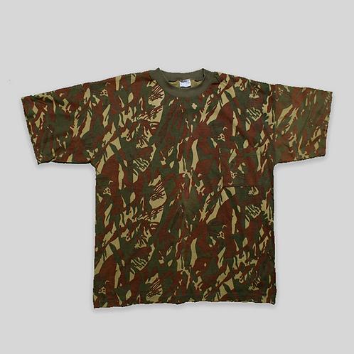 Camiseta camuflage DPM (Disruptive Pattern Material)