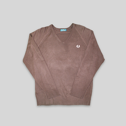 JERSEY V NECK FRED PERRY (XL)