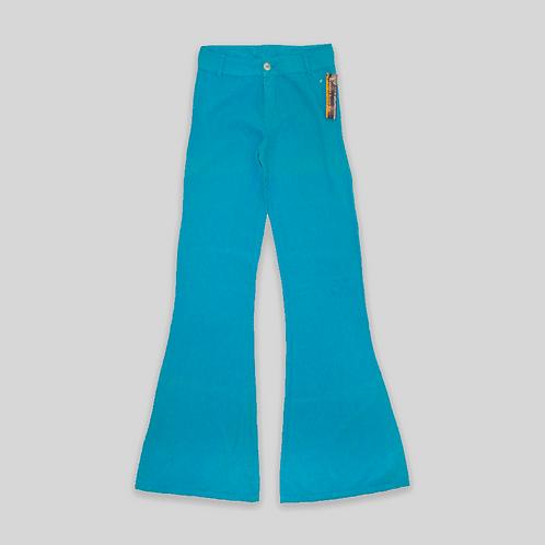 Pantalones de Campana vintage 2000 100% Lino