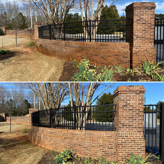 3-5-21 Before & After Commercial brick f