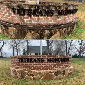 3-24-21 Before and after memorial - fron