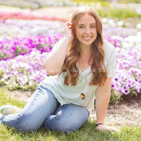 Julia's Color-filled Fort Collins Senior Pictures | Larissa Elizabeth Photography