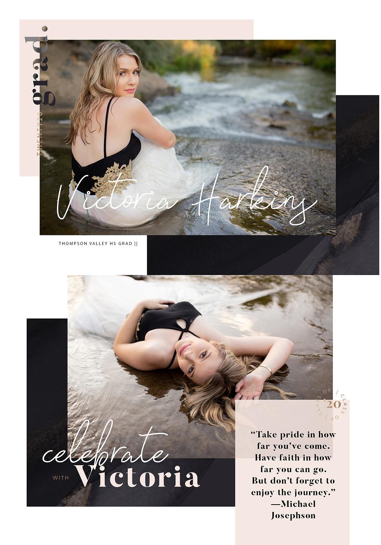 loveland colorado senior photographer grad announcements