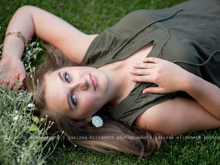 Loveland Senior Photographer | Ellie's  Garden Senior Session - Loveland High School, Class of 2