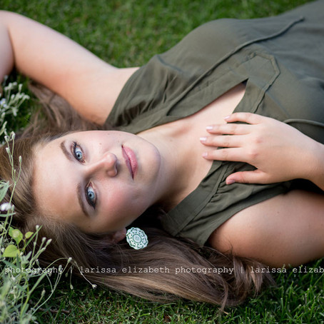 Loveland Senior Photographer | Ellie's  Garden Senior Session - Loveland High School, Class of 2