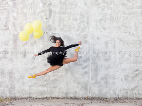 Northern Colorado Senior Photographer | Adalyn's Dash of Yellow Session - Class of 2020 - RHS