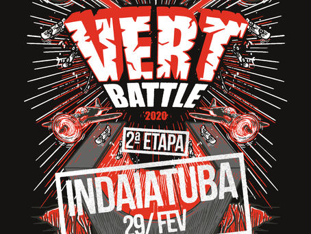 vert Battle aterrisa em Indaiatuba